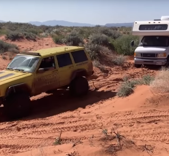 Can the Jeep pull the RV?