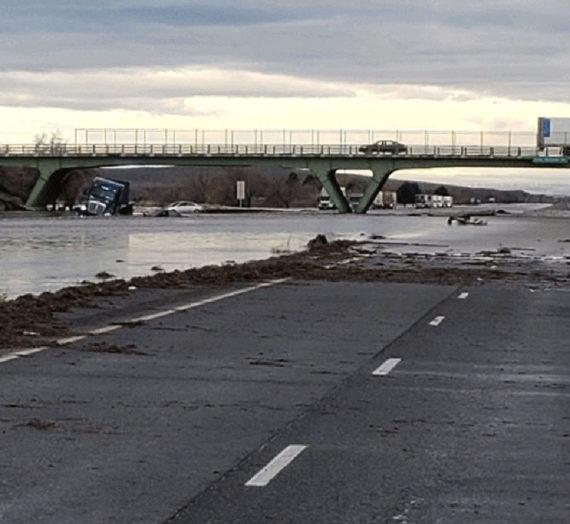 Flooding in Eastern Oregon