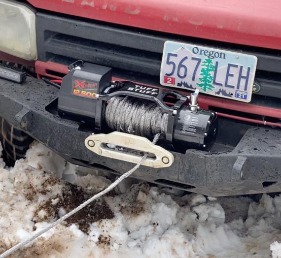 Stranded Dodge 3500