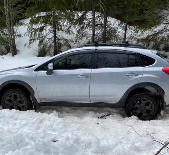 Subaru stranded