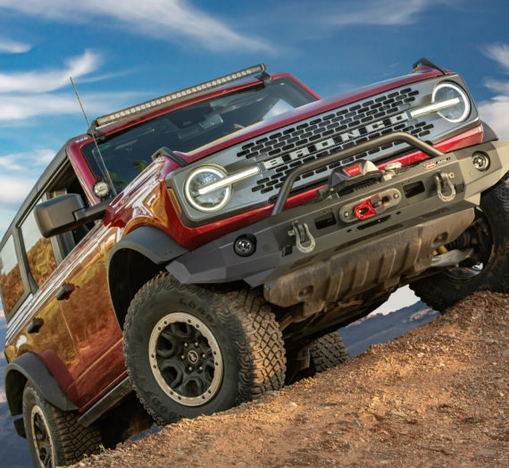 Warn Industries Releases Elite Series Bumpers for New Ford Bronco