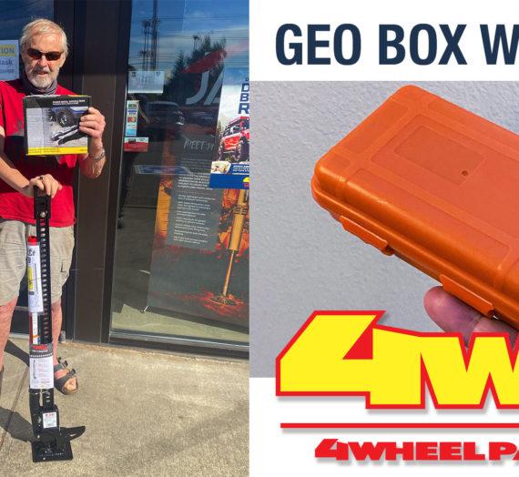 Third Geo Box Winner